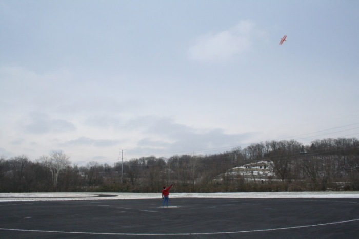 John Moll flying on Jan 1st in 2013