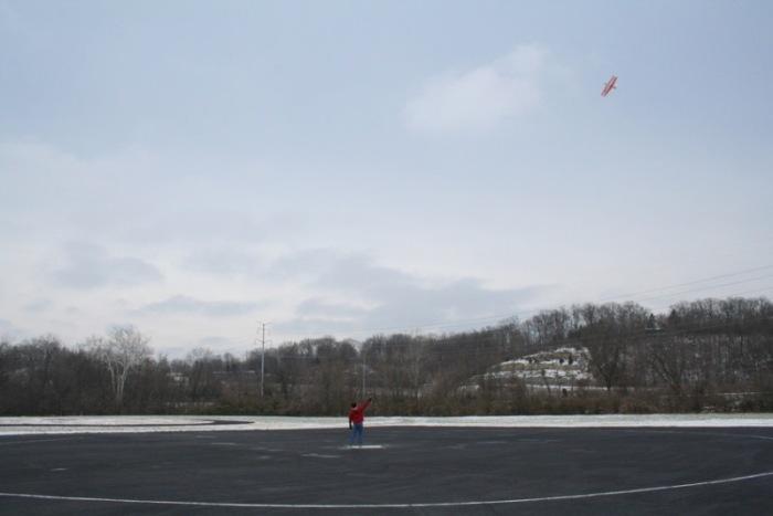 John Moll flying on Jan 1st in 2013