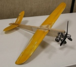 John Moll's Fox 35 speed Model ready to assemble