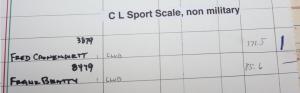Sport Scale - Civilian